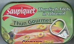 Saupiquet Thun Gourmet -Olivenoel-