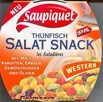 Saupiquet Thunfisch Salatsnack -Western-