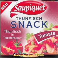Saupiquet Thunfisch Snack -Tomate-