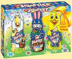 Smarties 3 x Klapper Hase und Freunde