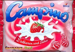Campino Erdbeer und Sahne
