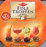 Trumpf Edle Tropfen in Nuss  -Internationale Cocktails-