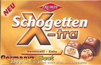 Trumpf Schogetten X-tra Vermicelli-Keks