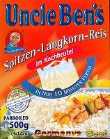 Uncle Ben´s Spitzen-Langkorn-Reis 10 Minuten