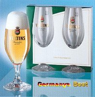 2 Veltins Bier Glaeser