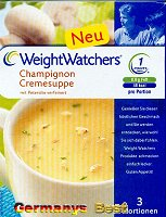 Weight Watchers Champignon Cremesuppe -Box-