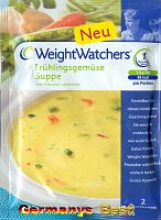 Weight Watchers Frühlingsgemüse Suppe