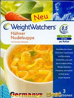 Weight Watchers Hühner Nudelsuppe -Box-