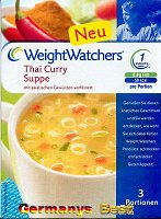 Weight Watchers Thai Curry Suppe -Box-
