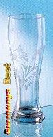 Weizenbierglass mit Weizendekorgravur