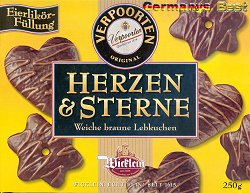 Wicklein Herzen & Sterne Lebkuchen -Verpoorten-