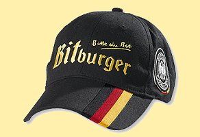Bitburger DFB Cap Black