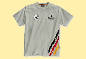 Bitburger DFB T-Shirt Grey, Size L