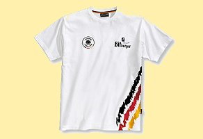 Bitburger DFB T-Shirt White, Size XL