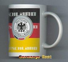 DFB Kaffee Tasse Schwarz-Rot-Gelb