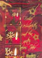 Heitmann Grosse Weihnachtstasche -Frohe Weihnachten-