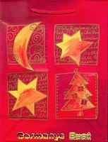Heitmann Kleine Weihnachtstasche -Mond und Sterne-