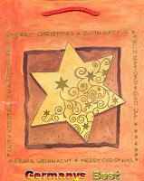 Heitmann Kleine Weihnachtstasche -Stern-