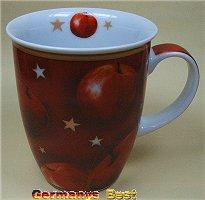 Heitmann Weihnachtsbecher -Motiv Apfel-