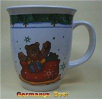 Heitmann Weihnachtsbecher -Bär-