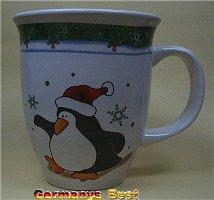 Heitmann Weihnachtsbecher -Pinguin-
