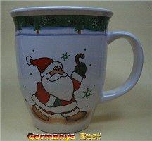 Heitmann Weihnachtsbecher -Santa-