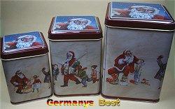 Heitmann Dosenset (3 Stueck) -Serie Santa-
