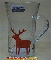 Montana Teeglas mit Elch